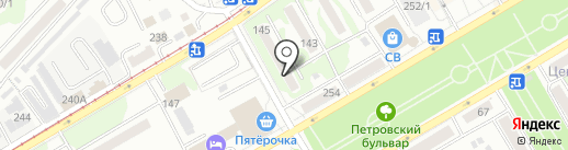 Богатырь на карте Бийска