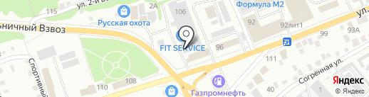 Агентство событий Катерины Ишковой на карте Бийска