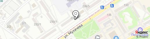 Бийская частная пивоварня №1 на карте Бийска