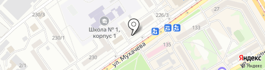 Платежный терминал, Сбербанк, ПАО на карте Бийска