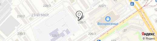 Ассоль на карте Бийска