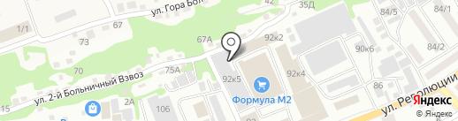 Палитра на карте Бийска