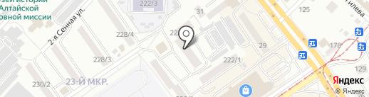 Генератор продаж на карте Бийска