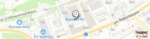 Арт Deco на карте Бийска