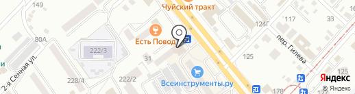 АлтайОптИнструмент на карте Бийска