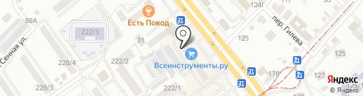 Showroom JERSEY на карте Бийска