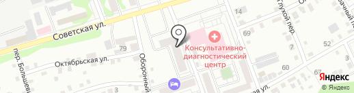 Строительное управление №1 на карте Бийска