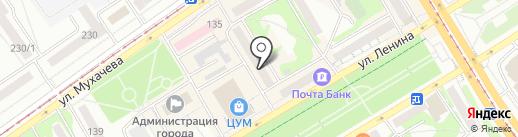 Экодом на карте Бийска