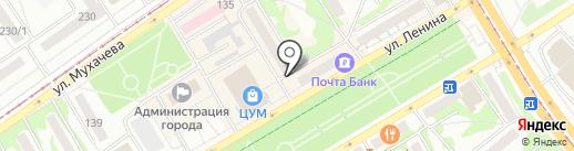 Дуэт на карте Бийска