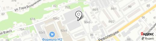 Платный туалет на карте Бийска