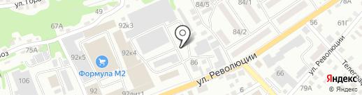 Щукарь на карте Бийска