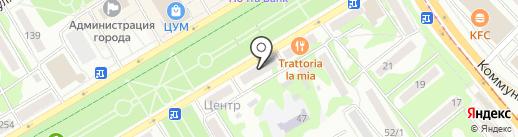Нотариус Беляева Н.В. на карте Бийска
