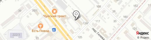 АбсолютСтрой на карте Бийска