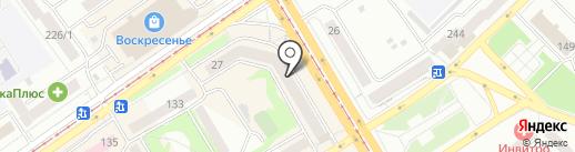 Магазин хозтоваров на карте Бийска