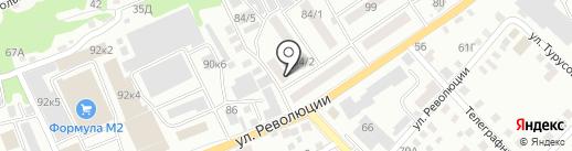 Учебно-консультационный центр на карте Бийска
