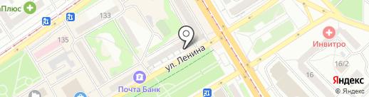 Вестфалика на карте Бийска