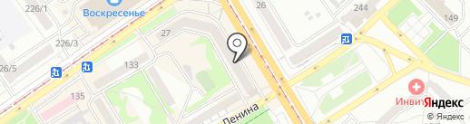 Сокол на карте Бийска