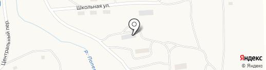 Почтовое отделение на карте Первомайского