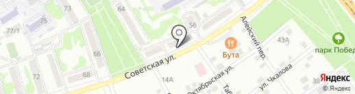АвтоЛавка на карте Бийска