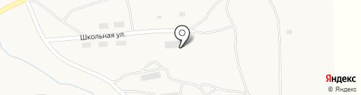 Первомайская основная общеобразовательная школа на карте Первомайского