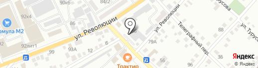 Всероссийское добровольное пожарное общество на карте Бийска