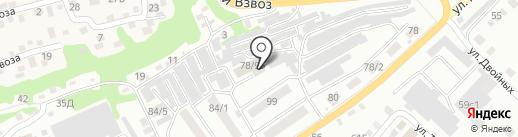 Синий Кит на карте Бийска