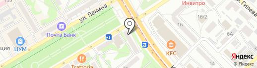 Центр страховых услуг на карте Бийска