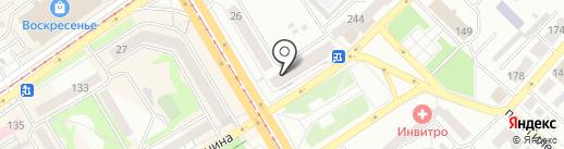 Спарринг на карте Бийска