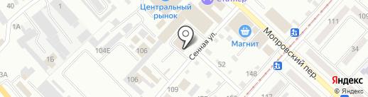 Магазин изделий из камня и каменной крошки на карте Бийска