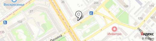 Сабантуй на карте Бийска