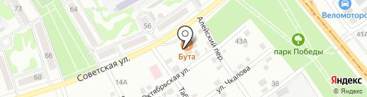 NAR на карте Бийска