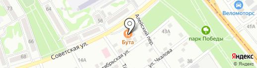 Med-Biysk.ru на карте Бийска