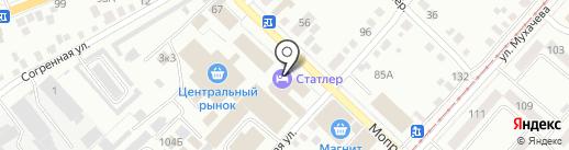 Zefir hall на карте Бийска