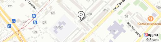 Адвокатская контора №1 на карте Бийска