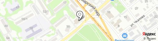 Бизнес-контакт на карте Бийска