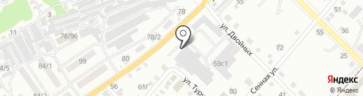 Спецэнергострой на карте Бийска