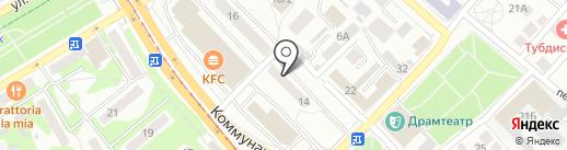 Лукошко на карте Бийска