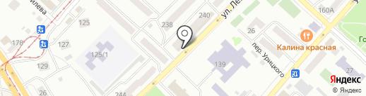 Адвокатский кабинет Циганова А.Н. на карте Бийска
