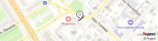 Спецсервис на карте Бийска