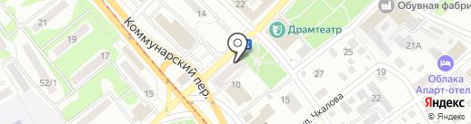 ЛАКОМКА на карте Бийска