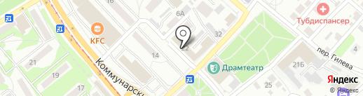 Ростелеком, ПАО на карте Бийска