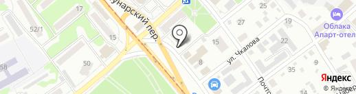 Алтамар на карте Бийска