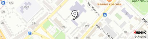 ДЮСШ №2 на карте Бийска