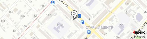 Гастроном на карте Бийска