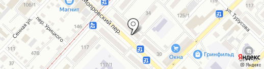 Магия Белья на карте Бийска