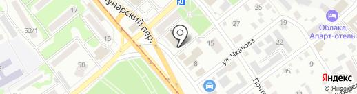 Центр оценки и экспертизы стоимости имущества на карте Бийска
