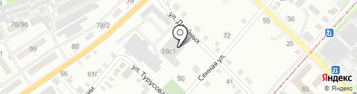 Мастерская по ремонту автомобилей на карте Бийска
