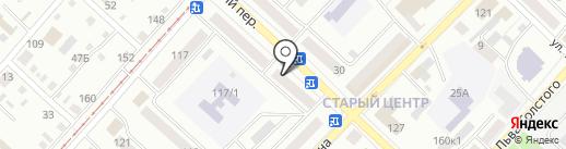 Адвокатский кабинет Кузуб Л.А. на карте Бийска