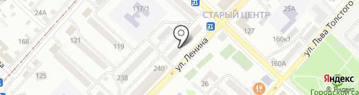 Адвокатский кабинет Панчук Н.В. на карте Бийска
