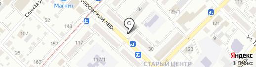 Перспектива на карте Бийска